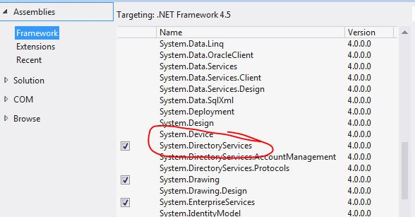 c# Get Email Address from Active Directory (using Username) in Asp